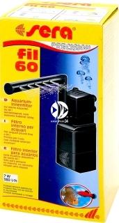 SERA Fil 60 (06843) - Filtr wewnętrzny do akwarium do 60l