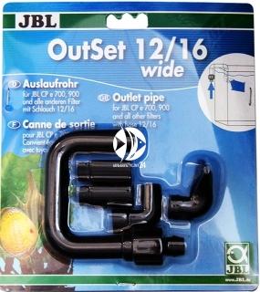 JBL OutSet Wide (60155) - Wylot filtra z szeroko strumieniową końcówką do filtrów CristalProfi e402, e401, e400, e702, e701, e700, e902, e901, e900, e1502, e1501, e1500 i e1902, e1901