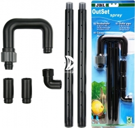 JBL OutSet Spray (60157) - Wylot filtra (deszczownica) z kolankiem