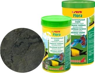 SERA Flora (32244) - Roślinny pokarm dla ryb akwariowych ze spiruliną