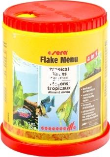 SERA Flake Menu 150ml - Wieloskładnikowy pokarm dla ryb ozdobnych