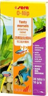 SERA O-Nip 24 tabletki (00420) - Pokarm dla ryb akwariowych w tabletkach do przyklejania