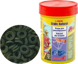 SERA Crabs Natural 100ml - Specjalny pokarm dla raków i krabów