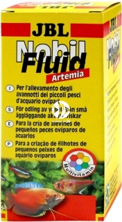 JBL NobilFluid Artemia 50ml (30881) - Pokarm w płynie z larwami solowca i witaminami dla narybku