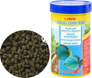 SERA Discus Color Blue (00324) - Specjalny tonący granulat dla paletek zielonych i niebieskich