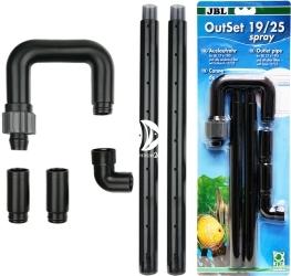 JBL OutSet Spray  19/25 mm (602330) - Wylot filtra (deszczownica) z kolankiem