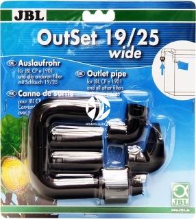JBL OutSet Wide (60155) - Wylot filtra z szeroko strumieniową końcówką, do akwarium