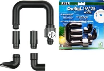 JBL OutSet Wide  19/25mm (602320) - Wylot filtra z szeroko strumieniową końcówką, do akwarium