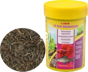 SERA FD Bloodworms 100ml (01140) - Liofilizowane larwy komarów