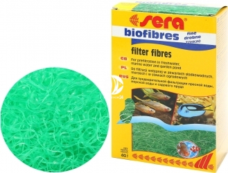 SERA BioFibres Fine 1000ml - Biomechaniczny wkład do filtra w akwarium