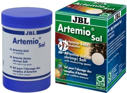 JBL Artemio Sal 230g (30906) - Specjalna niejodowana sól do wylęgu artemii, dla ryb akwariowych.