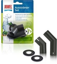 JUWEL Ausströmer Set (90046) - Zestaw umożliwiający ustawienie przepływu wody w akwarium