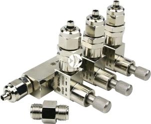 ROTALA CO2 Precision Valve 3+CV PRO-Line (Rot411co2) - Zaworek precyzyjny CO2 trzy-wyjściowy z zaworem zwrotnym