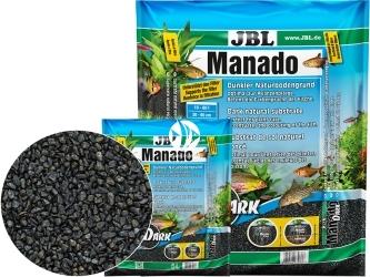 JBL Manado Dark (670360) - Ciemne naturalne podłoże do akwarium słodkowodnego