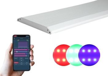 CHIHIROS LED A PLUS RGB (333-451) - Oświetlenie LED RGB z wbudowanym regulatorem natężenia światła bluetooth