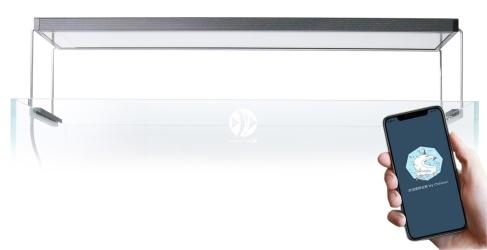 CHIHIROS LED WRGB II (331-9301) - Oświetlenie LED WRGB II z wbudowanym regulatorem natężenia światła bluetooth