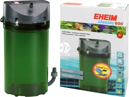 EHEIM Classic 600 (2217) (2217020) - Filtr zewnętrzny do akwarium 180-600l