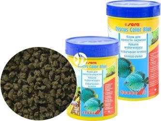 SERA Discus Color Blue - Specjalny tonący granulat dla paletek zielonych i niebieskich