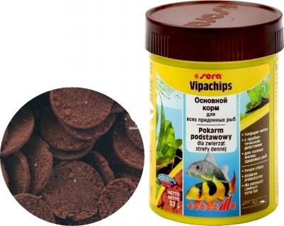SERA Vipachips (00514) - Pokarm dla ryb akwariowych dennych