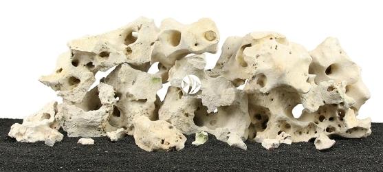 Zestaw Skał do Akwarium Malawi/Morskie 90cm (nr. 38) - Zawiera wapienia filipińskiego o wymiarach: 5 - 15cm (6kg), 15 - 25cm (9kg), powyżej 25cm (10kg)