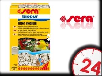 SERA BioPur - Biologiczny wkład do filtra do akwarium (ceramika)