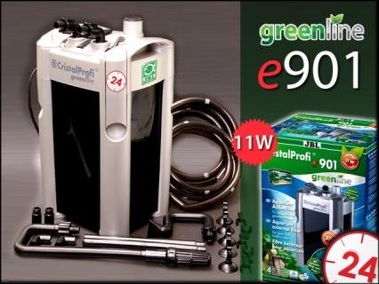 JBL CRISTALPROFI GREENLINE e901 (60211) - Energooszczędny filtr zewnętrzny do akwarium 90-300l