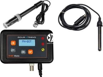 AQUA TREND Ph-Bot Midi (AT0056) - Akwarystyczny kontroler pH Zestaw zawiera: Kontroler, sondę pH, czujnik temperatury