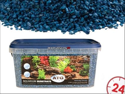 AQUARIUM SUBSTRATE KARIBIK 2-4mm, 3L - Samoczyszczące podłoże do akwarium o własciwościach antyglonowych i absorbcyjnych.