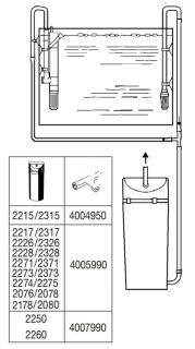 EHEIM Surface Skimmer (3535000) - Filtr powierzchniowy, skimmer do akwarium