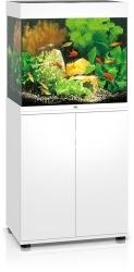 JUWEL Lido 120 LED Biały + Szafka - Zawiera: Wyposażone akwarium z oświetleniem LED, szafka