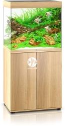 JUWEL Lido 200 HeliaLux Spectrum (2x belka) Jasne drewno (dąb) + Szafka - Zawiera: Wyposażone akwarium z oświetleniem HeliaLux Spectrum LED, szafka