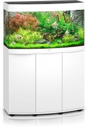 JUWEL Vision 180 HeliaLux Spectrum Biały + Szafka - Zawiera: Wyposażone akwarium z oświetleniem HeliaLux Spectrum LED, szafka