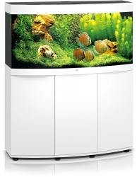 JUWEL Vision 260 HeliaLux Spectrum Biały + Szafka - Zawiera: Wyposażone akwarium z oświetleniem HeliaLux Spectrum LED, szafka