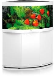 JUWEL Trigon 350 LED (2x belka) Biały + Szafka - Zawiera: Wyposażone akwarium z oświetleniem LED, szafka