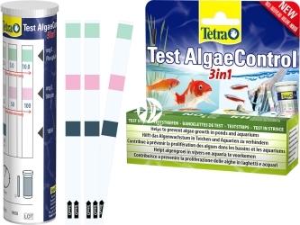 TETRA Test AlgaeControl 3w1 (T299078) - Test paskowy do odczytu poziomu PO4, NO3 i KH