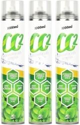 PLANTIS Zestaw: 3x Butla CO2 1000ml - Butle zawierają CO2 niezbędne dla roślin.
