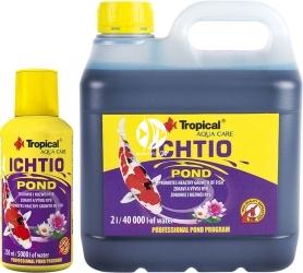 TROPICAL Ichtio Pond (32225) - Preparat do bezpiecznego i prawidłowego rozwoju ryb w oczku wodnym, stawie