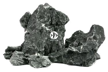 ROTALA Premium Namasu Stone 1kg (RNS001) - Skała dekoracyjna o ciemno szarej barwie