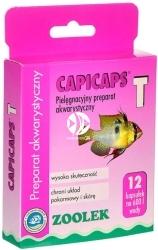 ZOOLEK Capicaps T 12 kapsułek (5343) - Preparat odkażający na pasożyty, nicienie, przywry, tasiemiec
