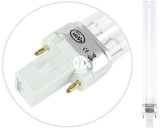 AQUA NOVA Promiennik UV 11W (11WUV) - Żarnik posiadający trzonek G23 do sterylizatora i filtra Aqua Nova