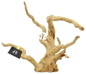 ROTALA Premium Red Moor Wood nr 14 (szt) - Dekoracyjny korzeń do akwarium roślinnego