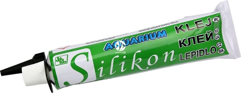 Jaba Czarny Silikon Akwarystyczny 135ml - Czarny silikon do akwarium