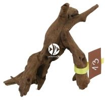 ROTALA Premium Dark Old Wood nr 13 (szt) - Ciemny, dekoracyjny korzeń do akwarium