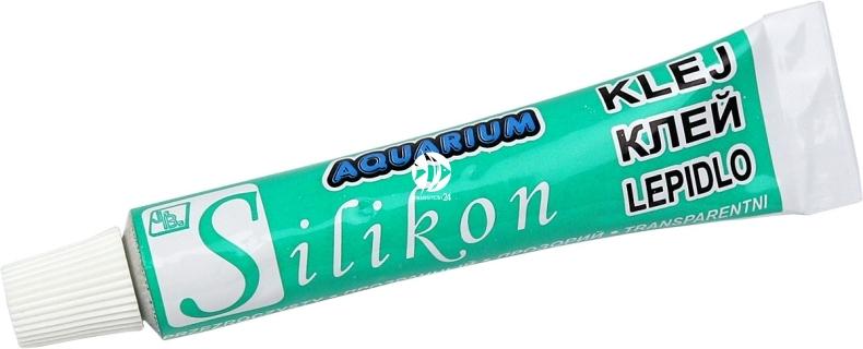 Jaba Bezbarwny Silikon Akwarystyczny 8ml - Bezbarwny silikon do akwarium