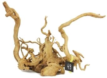 ROTALA Premium Red Moor Wood nr 49 (szt) - Dekoracyjny korzeń do akwarium roślinnego