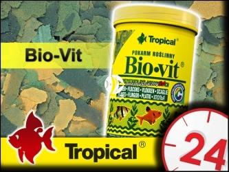 TROPICAL BIO-VIT 185g/1L - Roślinny, podstawowy pokarm płatkowany