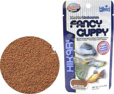 HIKARI Fancy Guppy (22102) - Tonący pokarm dla ryb żyworodnych