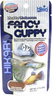 HIKARI Fancy Guppy (22166) - Tonący pokarm dla ryb żyworodnych