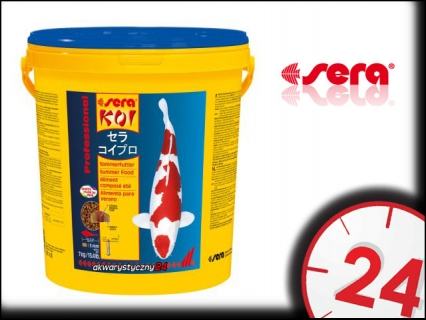 SERA KOI PROFESSIONAL LATO 7kg (07018) - Letni pokarm dla karpii koi