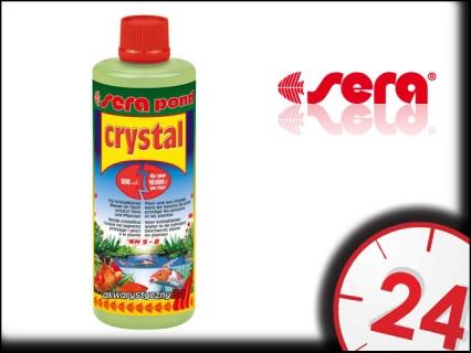 SERA POND CRYSTAL 500ml - Preparat do krystalizacji wody w stawie ogrodowym